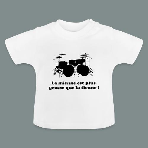 La mienne est plus grosse - T-shirt Bébé