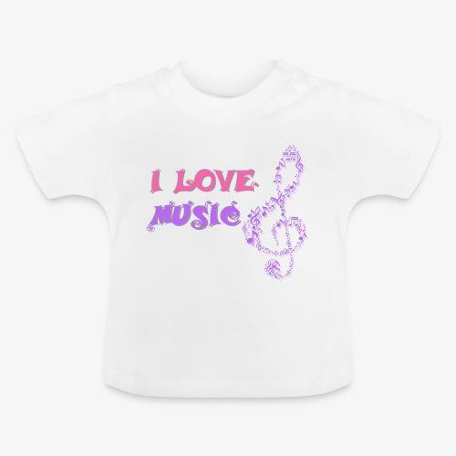 Love Music - Camiseta bebé