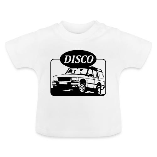 landroverdisco01dblack - Baby-T-skjorte