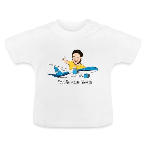 Frequent Flyer Yellow Viaja con Yoel - Camiseta bebé