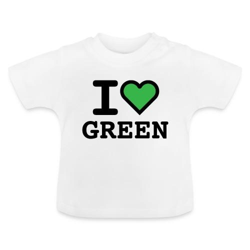 i-love-green-2.png - Maglietta per neonato