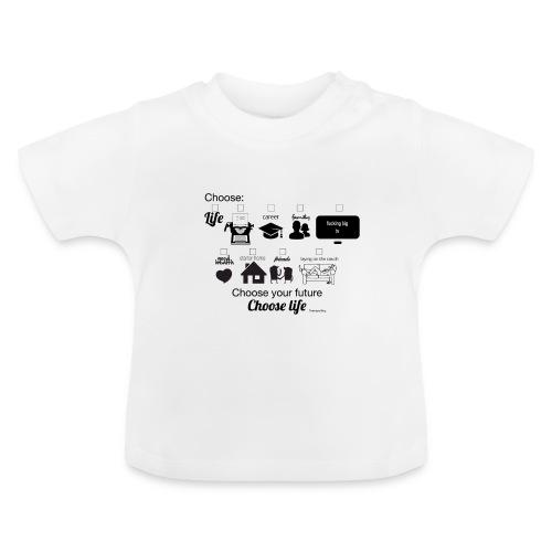 trainspotting - Camiseta bebé