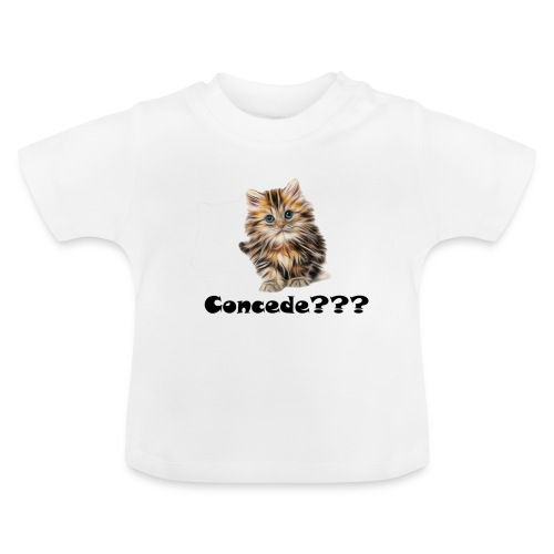 Concede kitty - Baby-T-skjorte