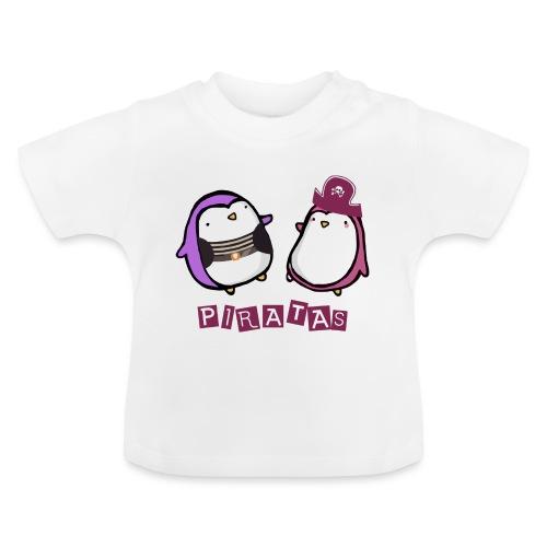 PINGUINOSPIRATAS - Camiseta bebé