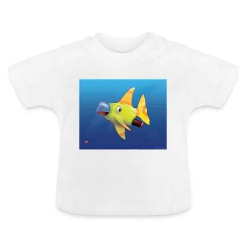 Greedy Fish - T-shirt Bébé