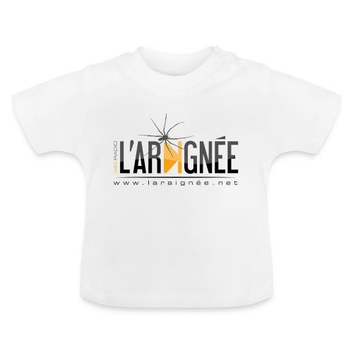 L'ARAIGNÉE, logo noir - T-shirt Bébé