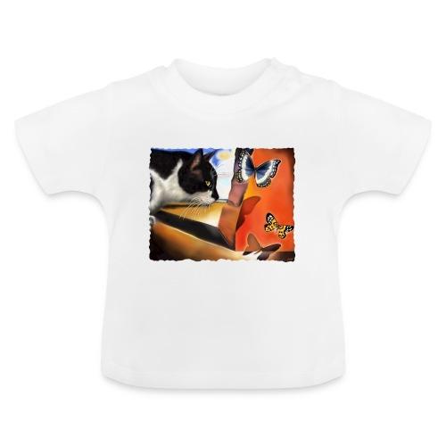 Il gatto di Dalí - Maglietta per neonato