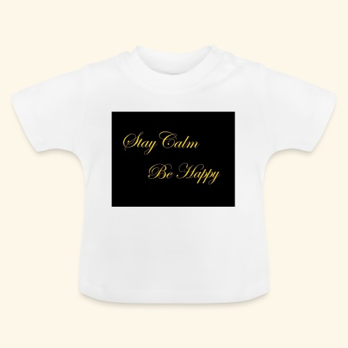 Be Happy - T-shirt Bébé