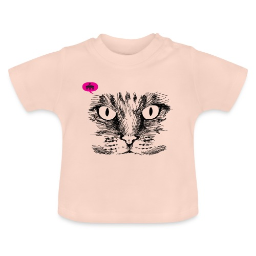 kattegezicht vdh - Baby T-shirt