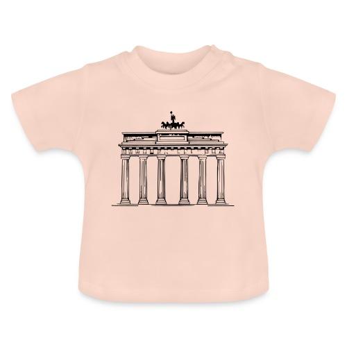 Brandenburger Tor Berlin Victoria Streitwagen - Baby T-Shirt