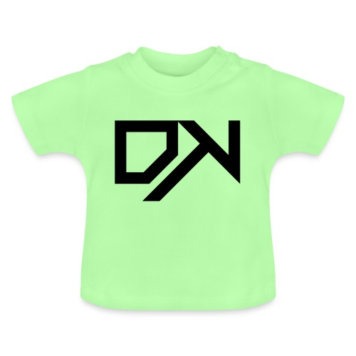 DewKee Logo Cap Black - Baby T-Shirt