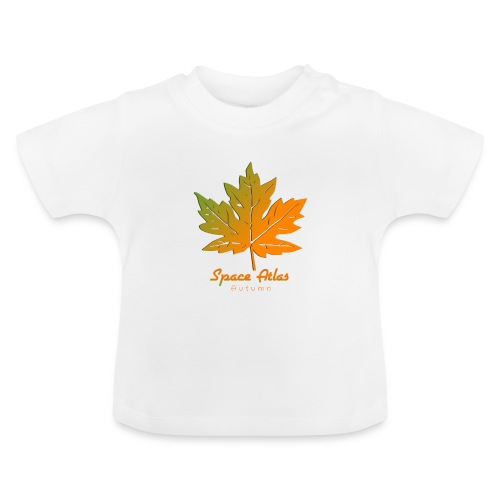 Space Atlas Long Sleeve T-shirt Autumn Leaves - Baby T-shirt