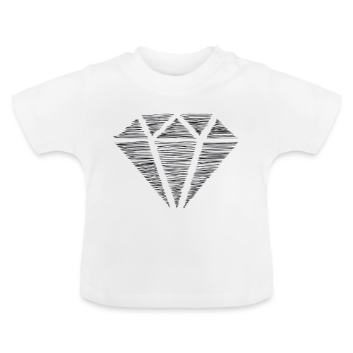 Diamante - Camiseta bebé