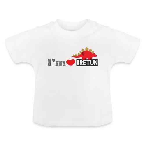 bretun negro - Camiseta bebé