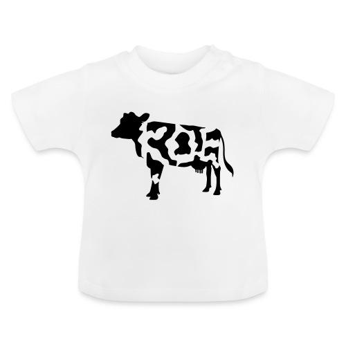 Zwarte koe witte vlekken - Baby T-shirt