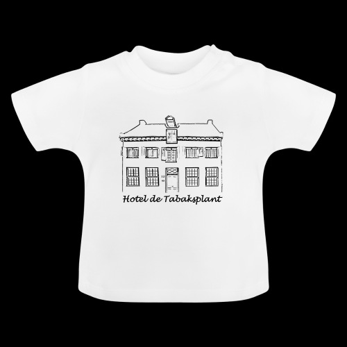 Hotel de Tabaksplant (black) - Baby T-Shirt