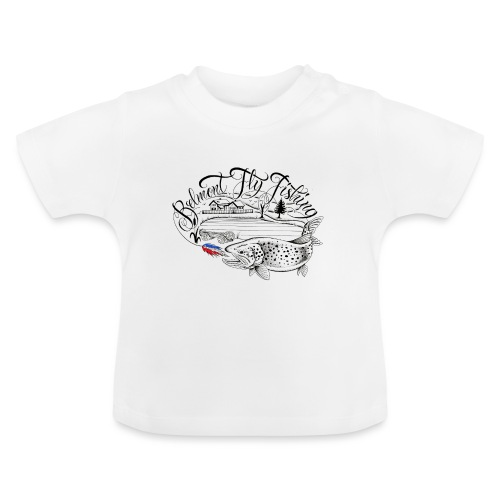 belmont fly fishing - T-shirt Bébé