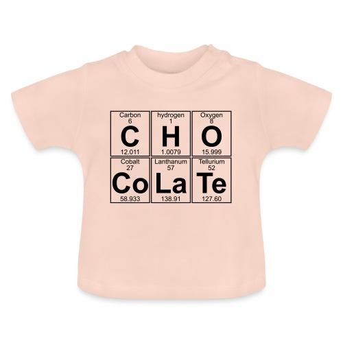 C-H-O-Co-La-Te (chocolate) - Full - Baby T-Shirt