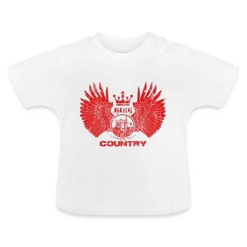 IH KING of the COUNTRY (Red design) - Baby T-shirt