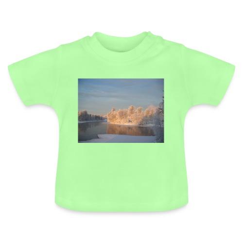 Suomen talvi - Vauvan t-paita