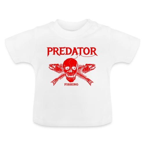 Predator fishing red - Baby T-Shirt
