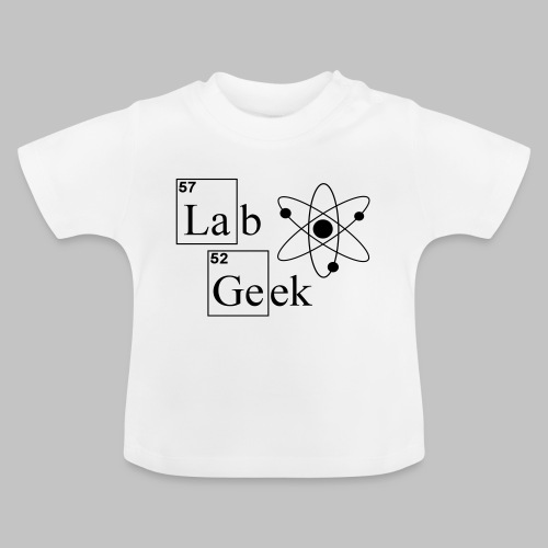 Lab Geek Atom - Baby T-Shirt