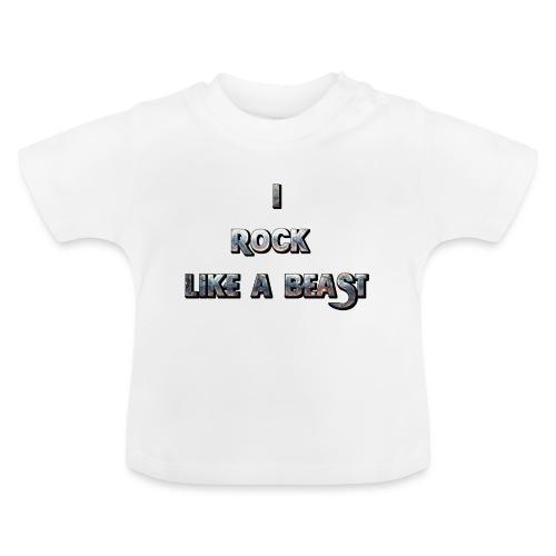 Irocklikeabeast Logo - Baby-T-shirt