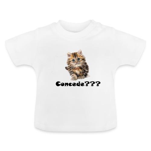 Concede kitty - Baby-T-skjorte