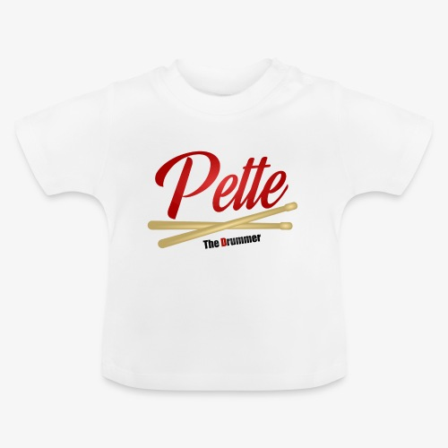 Pette the Drummer - Baby T-Shirt