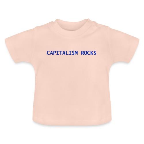 CAPITALISM ROCKS - Maglietta per neonato