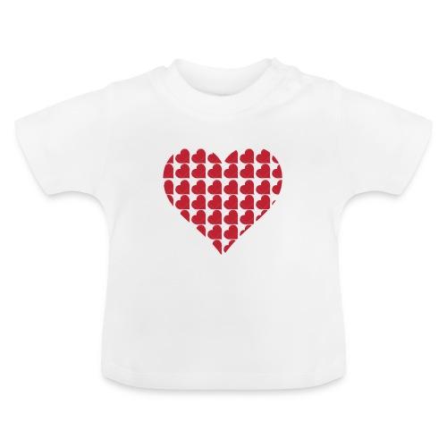 Hjerter-love-valentine-dag-hjerte - Baby T-shirt