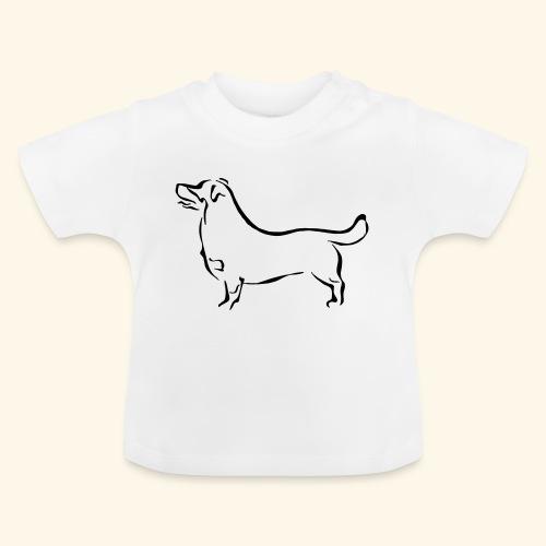 Heeler luppa - Vauvan t-paita