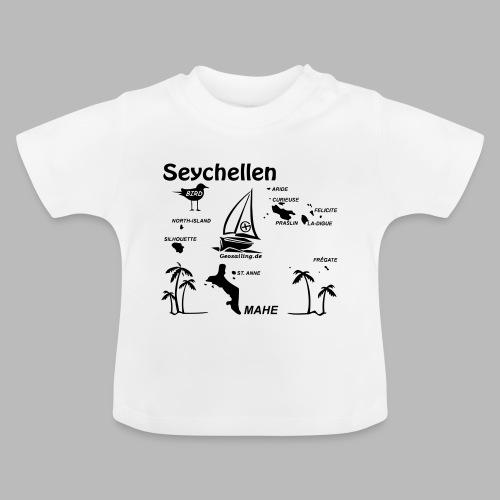 Seychellen Insel Crewshirt Mahe etc. - Baby T-Shirt