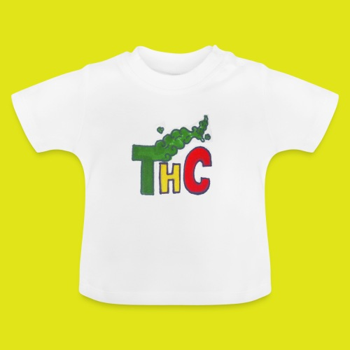 THC logo one - Maglietta per neonato