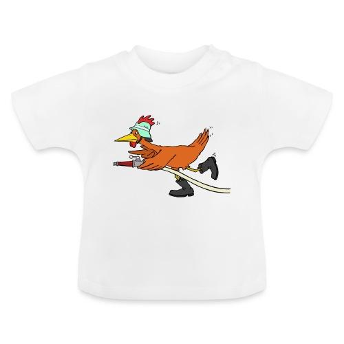 Flori Hahn löscht - Baby T-Shirt