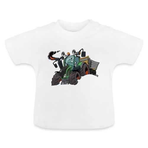 F 718Vario met kar - Baby T-shirt