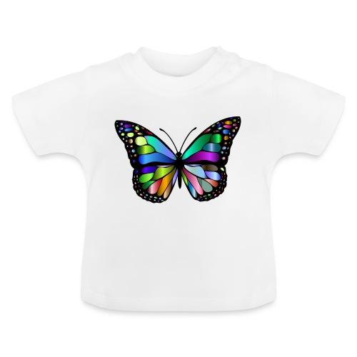 Kolorwy Motyl - Koszulka niemowlęca