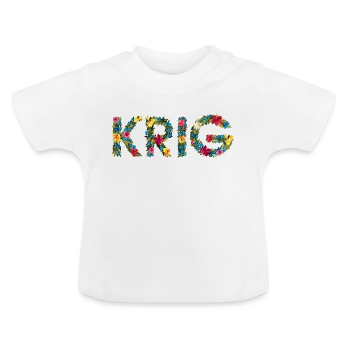 Blomstrende krig - Baby-T-skjorte