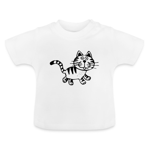 Friendly Cat - Baby T-Shirt