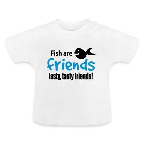 Fisk er venner - Baby-T-skjorte