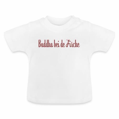 buddhabeidefische rot - Baby T-Shirt
