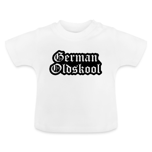 Grand Logo German Oldskool Official - T-shirt Bébé