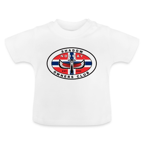 SHOC Norway Patch jpg - Baby-T-skjorte