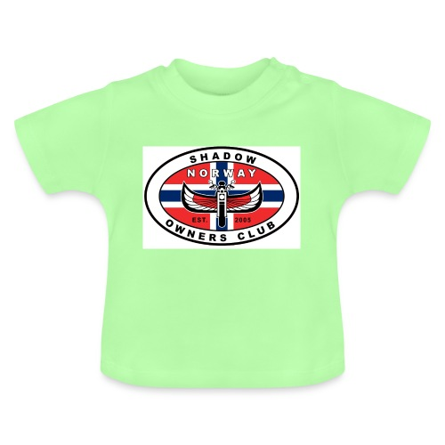 SHOC Norway Patch jpg - Baby-T-skjorte