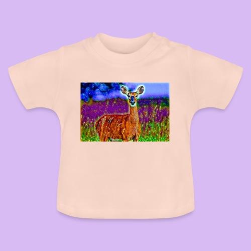Cerbiatto con magici effetti - Maglietta per neonato