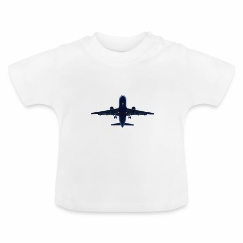 Flugzeug - Baby T-Shirt