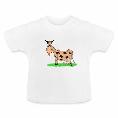 Kuh, Comic, Cartoon - Baby T-Shirt
