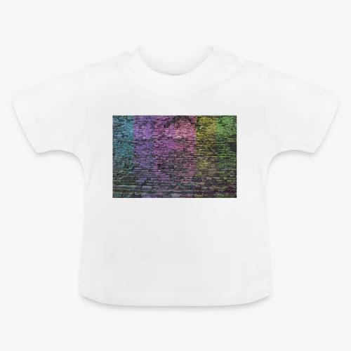 Regenbogenwand - Baby T-Shirt
