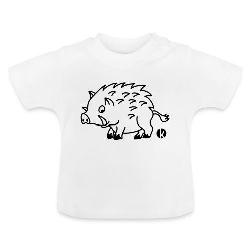 Wildschwein - Baby T-Shirt