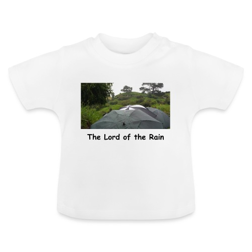The Lord of the Rain - Neuseeland - Regenschirme - Baby T-Shirt